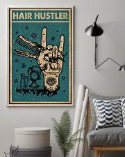 Retro Hair Hustler Hairstylist 11x17 Poster lifestyle-poster-1
