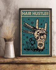 Retro Hair Hustler Hairstylist 11x17 Poster lifestyle-poster-3