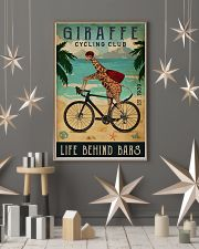 Cycling Club Giraffe 11x17 Poster lifestyle-holiday-poster-1
