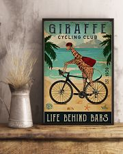 Cycling Club Giraffe 11x17 Poster lifestyle-poster-3