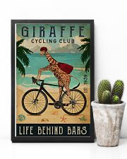 Cycling Club Giraffe 11x17 Poster lifestyle-poster-8