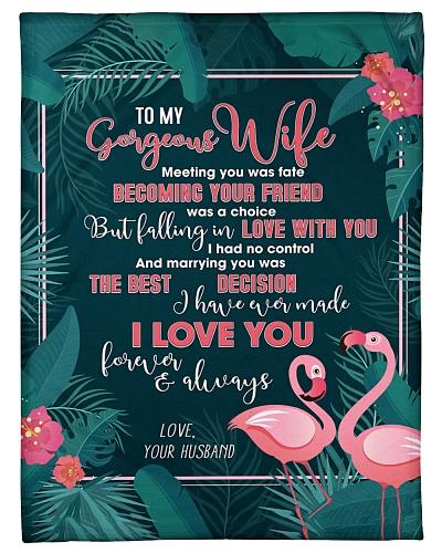 Husband To Wife Meeting You Was Fate Flamingo