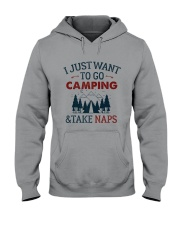 I Just Want To Go Camping - On Sale Hooded Sweatshirt thumbnail