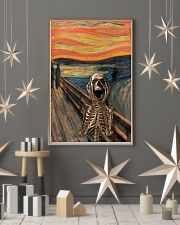 The Scream Skeleton 11x17 Poster lifestyle-holiday-poster-1