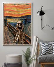 The Scream Skeleton 11x17 Poster lifestyle-poster-1