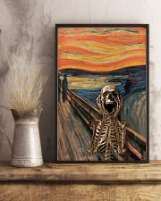 The Scream Skeleton 11x17 Poster lifestyle-poster-3