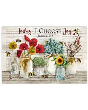 Catchphrase Today I Choose Joy Bee 17x11 Poster front