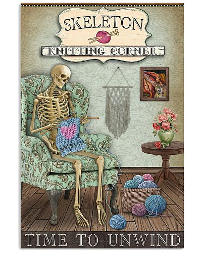 Knitting Corner Skeleton