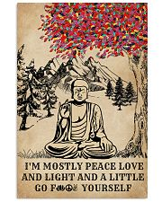Buddha Yoga And Litter Go Yourself 16x24 Poster front