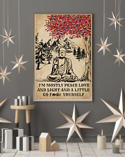 Buddha Yoga And Litter Go Yourself 16x24 Poster lifestyle-holiday-poster-1
