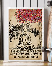 Buddha Yoga And Litter Go Yourself 16x24 Poster lifestyle-poster-4