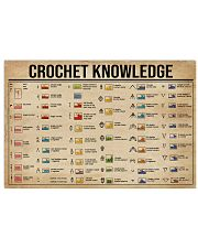Crochet Knowledge 36x24 Poster front