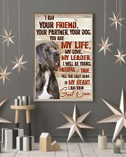 Great Dane I Am Your Friend 11x17 Poster lifestyle-holiday-poster-1