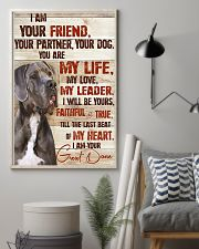 Great Dane I Am Your Friend 11x17 Poster lifestyle-poster-1