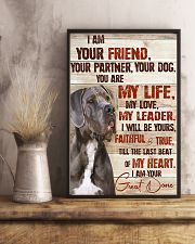 Great Dane I Am Your Friend 11x17 Poster lifestyle-poster-3