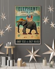 Beach Life Sandy Toes  Elephant 11x17 Poster lifestyle-holiday-poster-1