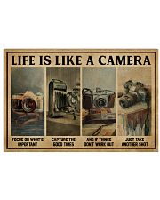 Life Is Like A Camera 24x16 Poster front