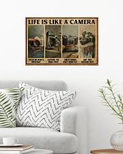 Life Is Like A Camera 24x16 Poster poster-landscape-24x16-lifestyle-01