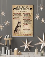 A Husky House Rules 11x17 Poster lifestyle-holiday-poster-1