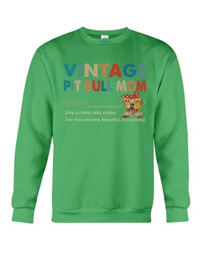 Vintage Dog Mom Pit Bull