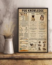 Knowledge Pug 11x17 Poster lifestyle-poster-3