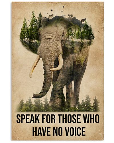 Elephant Speak For Those Who Have No Voice