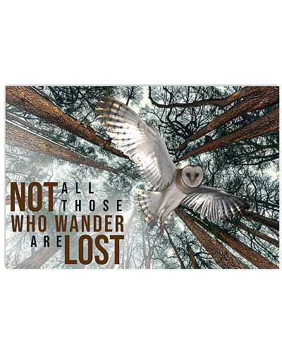 Owl Underview Who Wander