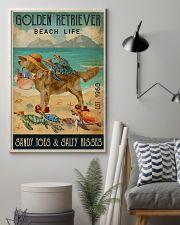 Turtle Beach Life Golden Retriever 11x17 Poster lifestyle-poster-1