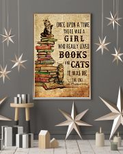 Books Cats Once Upon A Time Maine Coon 11x17 Poster lifestyle-holiday-poster-1