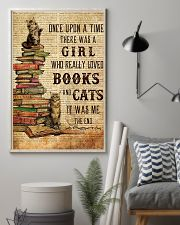 Books Cats Once Upon A Time Maine Coon 11x17 Poster lifestyle-poster-1