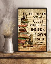 Books Cats Once Upon A Time Maine Coon 11x17 Poster lifestyle-poster-3
