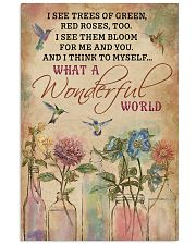 Hummingbird What A Wonderful World 11x17 Poster front
