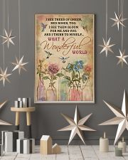 Hummingbird What A Wonderful World 11x17 Poster lifestyle-holiday-poster-1