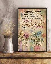 Hummingbird What A Wonderful World 11x17 Poster lifestyle-poster-3