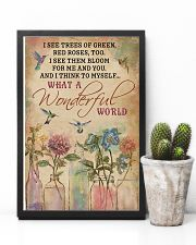 Hummingbird What A Wonderful World 11x17 Poster lifestyle-poster-8