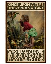 A Girl Who Really Loved Dragons 16x24 Poster front