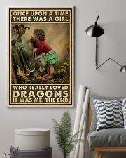 A Girl Who Really Loved Dragons 16x24 Poster lifestyle-poster-1
