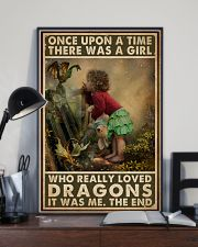 A Girl Who Really Loved Dragons 16x24 Poster lifestyle-poster-2
