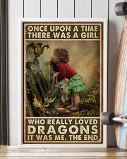 A Girl Who Really Loved Dragons 16x24 Poster lifestyle-poster-4