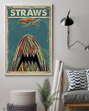 Vintage Straws Shark Sea Turtle 11x17 Poster lifestyle-poster-1