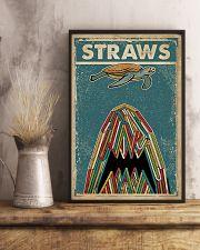 Vintage Straws Shark Sea Turtle 11x17 Poster lifestyle-poster-3