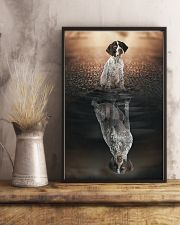 German Shorthaired Pointer Believe In Yourself 11x17 Poster lifestyle-poster-3