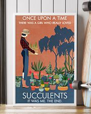 Vintage Once Upon A Time Succulent 16x24 Poster lifestyle-poster-4