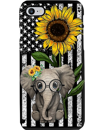 Sunflower Flag Elephant