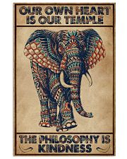 Kindness Elephant 16x24 Poster front