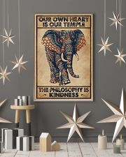 Kindness Elephant 16x24 Poster lifestyle-holiday-poster-1