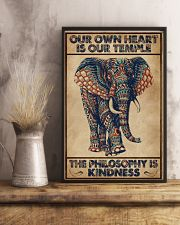 Kindness Elephant 16x24 Poster lifestyle-poster-3