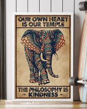 Kindness Elephant 16x24 Poster lifestyle-poster-4