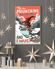 The Mountains Are Calling Skiing 16x24 Poster lifestyle-holiday-poster-1
