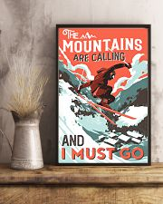 The Mountains Are Calling Skiing 16x24 Poster lifestyle-poster-3